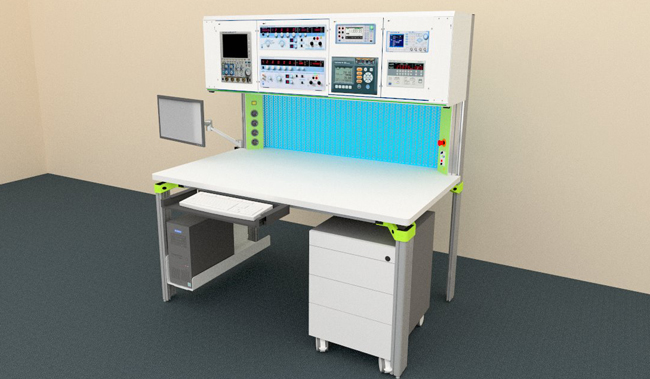 Calibration testbench - ESD worktable