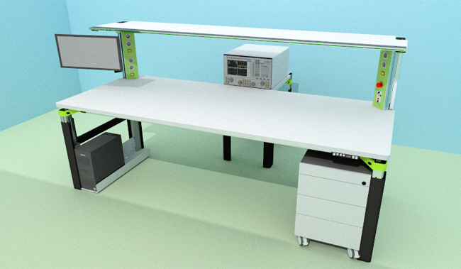 Electronic Workbench & Customized Workstation - Vector network analyzer